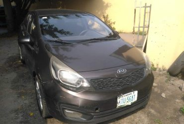 KIA RIO FOR RENT IN LAGOS